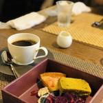 和フレンチ&カフェ そられ - デザート・珈琲