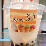King Soft - ドリンク写真:タピオカミルクティ