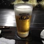 広島風お好み焼 あす香 - 生ビール