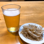 ラーメン コント - ビール(中びん) 550円