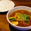gopのアナグラ - 料理写真:チキンと野菜のスープカレー