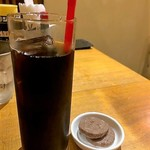 MY DINING 葡萄蔵 - アイス珈琲&クッキー