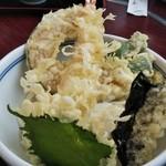 一休 - 天ぷらがいっぱい(^^)