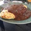 コーヒーハウス ナカザワ - 料理写真:   オムカレー (オムレツライスにカレーをかけた一品)