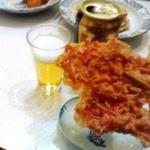 11175782 - 紅生姜の天麩羅 ビールに合いすぎ