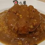 日乃屋カレー - 料理写真:メンチカツカレー