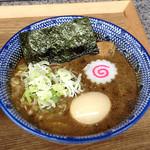 111752842 - 味玉つけ麺(大盛)