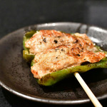 CHICKEN CREW - ピーマンの肉詰め@240円