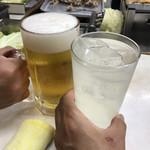 111757749 - レモンチューハイ400円で乾杯!