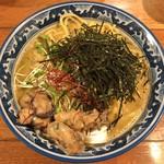 佐市 - 牡蠣・拉麺(麺・大盛り) + 牡蠣・2個