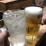 111758211 - チューハイレモン420円で乾杯