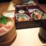 11176226 - 五色海鮮おひつ御膳(¥1290)