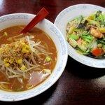 中国料理鉄人 - 料理写真:ラーメンセット!