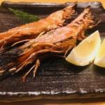 111762342 - 赤海老串焼き(1本380円)