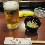 酒菜魚 しまだ - 料理写真:3度目の訪問でようやく座れました~