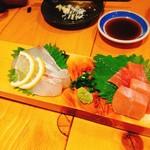酒蔵 ゴエモン - お刺身2種
