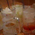 古民家風レストラン ハンバーグステーキふ~りん - ドリンク写真: