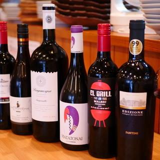 厳選ワイン多数あります!