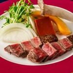 阜 - 【鉄板焼ランチステーキコース~花】ランチにステーキをたっぷりお楽しみいただけるコース!