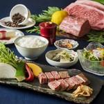阜 - 黒毛和牛ステーキが選べる、名実ともにステーキをご堪能いただける贅沢なコース
