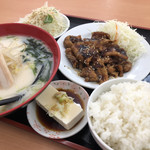 中華料理 萬盛 - コマ焼きランチ♪ 700円