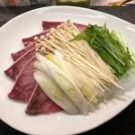 酒菜と炭 てりや - 料理写真:天然ブリのしゃぶしゃぶ