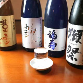 常備15種類~季節の地酒