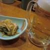 焼鳥・火の国 - 料理写真:生おビアとつきだしの鮭マリネ