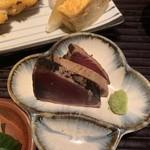 和食とお酒 きいろ - 鰹のたたき