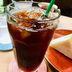 嵐山茶寮 - 嵐山茶寮のアイスコーヒー