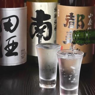 選りすぐりの銘酒。全てグラス500円でご提供しております