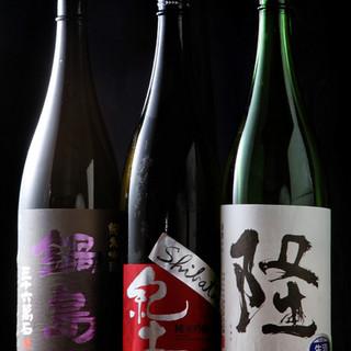 厳選した日本酒・焼酎から、女性に人気の果実サワーまで充実◎