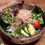 あじ彩 - あじ彩 「大根と水菜のサラダ」