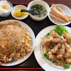 Taiwanryourifukijunkouyouten - 料理写真:女性定食(チャーハン大盛り)1166円