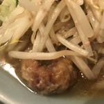 自家製麺キリンジ - カスはなんスカ?これっ?という感じ。