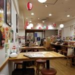 大阪王将 - 店内。