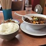 甲子園一貫樓 - 料理写真:麻婆麺セット辛さ2