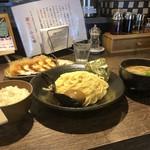 中華そば 雀 - 料理写真:つけ麺(中)セット