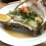 魚庭本店 - デカい牡蠣