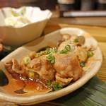 Sobaizakayamangetsu - ズッキーニと茄子の肉巻き