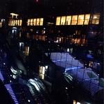 坂内食堂 - 伊勢丹JR側から外階段を眺める。。