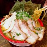 麺匠 真の蔵 - 「とりこらチャーシュー(味噌)(赤)」1000円