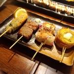 近江野菜鉄板串焼き わえん - 全部美味い(*´艸`*)