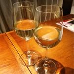 近江野菜鉄板串焼き わえん - 白ワイン♪