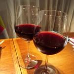 近江野菜鉄板串焼き わえん - 赤ワイン