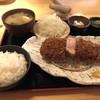 とんかつ平野 - 料理写真:ロース厚切り御膳 1650円
