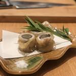Warayakiporojirou - 穴子の八幡揚げ