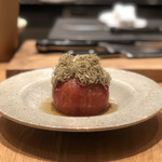 Warayakiporojirou - 夏トマト冷出汁 とろろ昆布