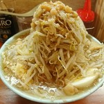 ラーメン富士丸 - 料理写真:'19/4/11 富士丸ラーメン+野菜増し