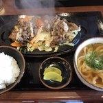 じゅーじゅー焼き 肉釜食堂 - 焼肉定食=980円 税込
